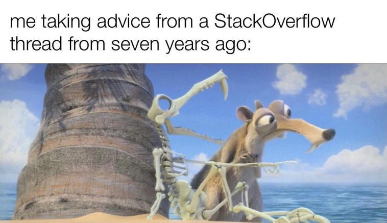 I mean, if it works…   stackoverflow-memes, stack-memes, overflow-memes, IT-memes   ProgrammerHumor.io