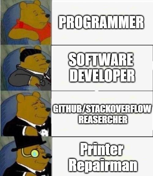 Can You Fix My Printer... | stackoverflow-memes, stack-memes, git-memes, fix-memes, overflow-memes | ProgrammerHumor.io