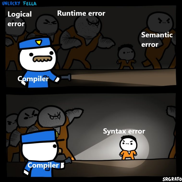 It's not like I can handle that one very efficiently either | error-memes | ProgrammerHumor.io