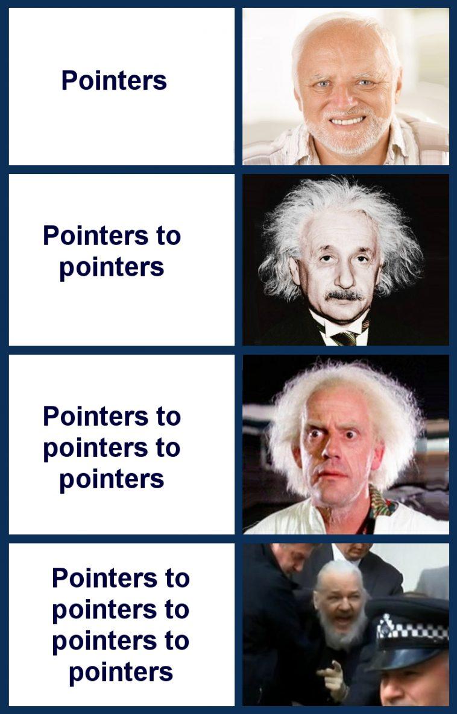Pointers | pointers-memes | ProgrammerHumor.io