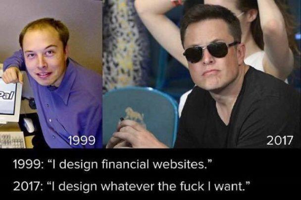 Elon's humble roots   web-memes, design-memes, website-memes   ProgrammerHumor.io