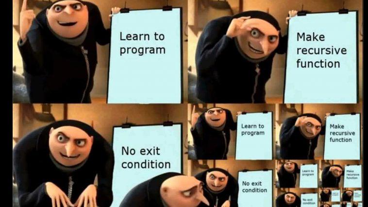 Don't forget to break your loops | program-memes, function-memes, loops-memes, oop-memes, recursive-memes | ProgrammerHumor.io