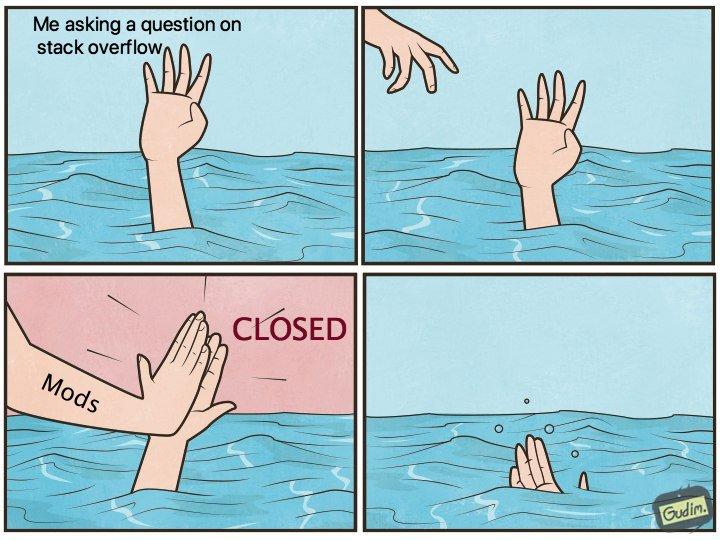 First time ? | stack-memes, stack overflow-memes, overflow-memes | ProgrammerHumor.io