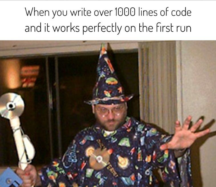 You know, I'm something of a scientist myself   code-memes, lines of code-memes, IT-memes   ProgrammerHumor.io