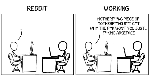 How to tell if my co-worker is actually working   reddit-memes   ProgrammerHumor.io