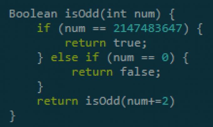 Well that's odd   ProgrammerHumor.io