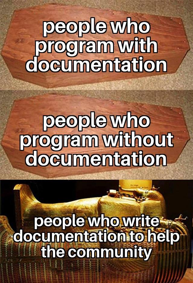 This people deserve a temple | program-memes, documentation-memes | ProgrammerHumor.io