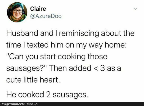 Her husband must be a programmer | programmer-memes, program-memes, azure-memes | ProgrammerHumor.io