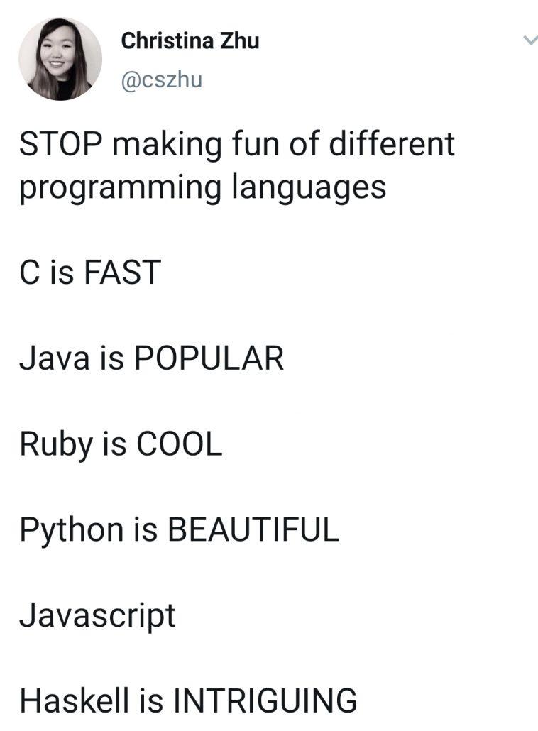 JavaScript is ........, yeah.... IGHT ima head out   programming-memes, javascript-memes, java-memes, python-memes, program-memes, haskell-memes, ruby-memes, lan-memes, language-memes   ProgrammerHumor.io