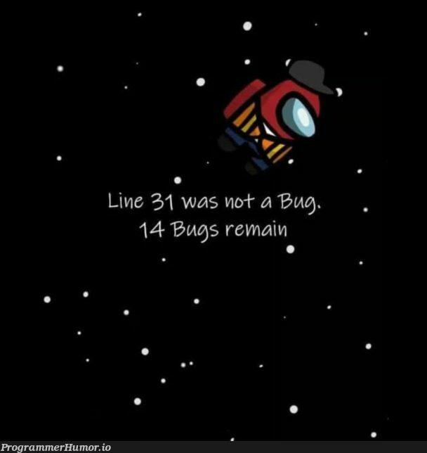 Compiler Warning : Line 323 is kinda sus | bug-memes, warning-memes, compiler-memes | ProgrammerHumor.io