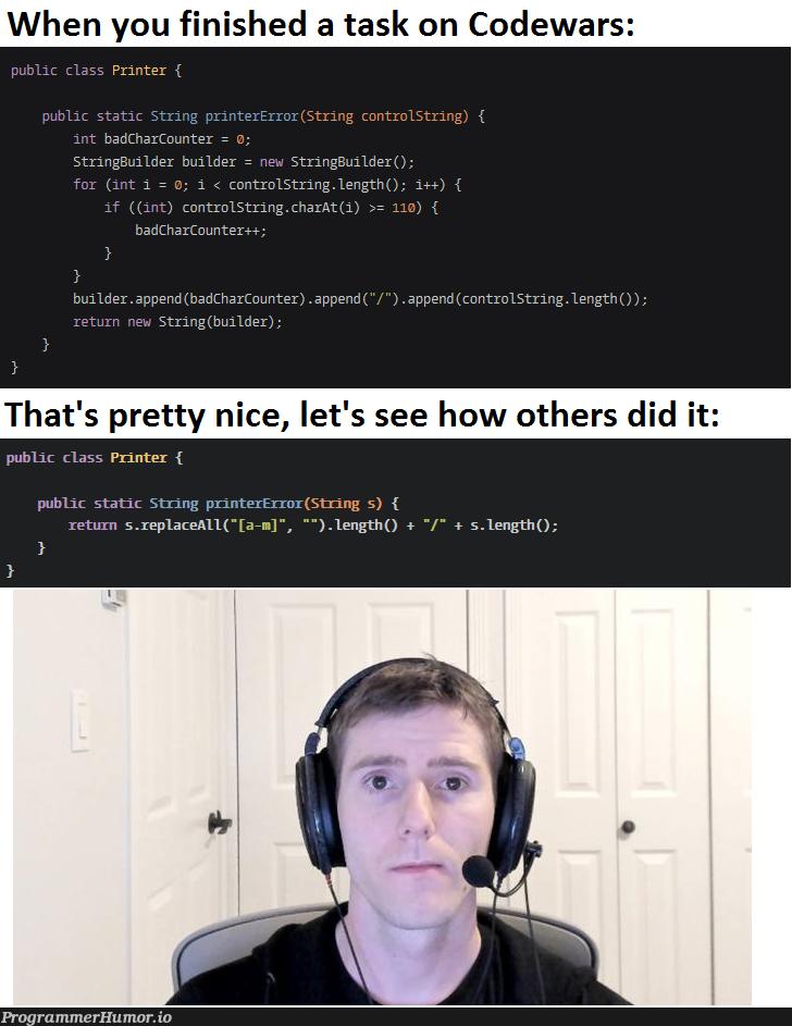 Happens every time   code-memes, string-memes, class-memes, error-memes, public-memes   ProgrammerHumor.io