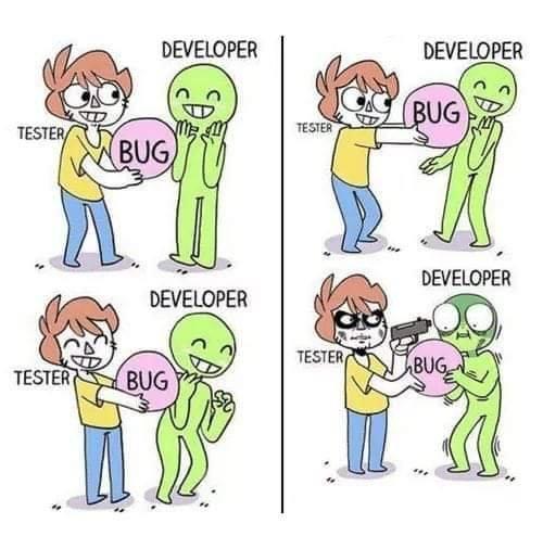 tester vs developer   developer-memes, test-memes   ProgrammerHumor.io