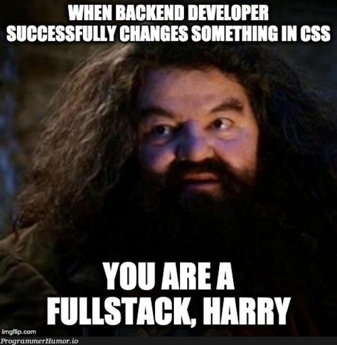 Some say CSS is magic | css-memes, stack-memes, cs-memes, fullstack-memes | ProgrammerHumor.io