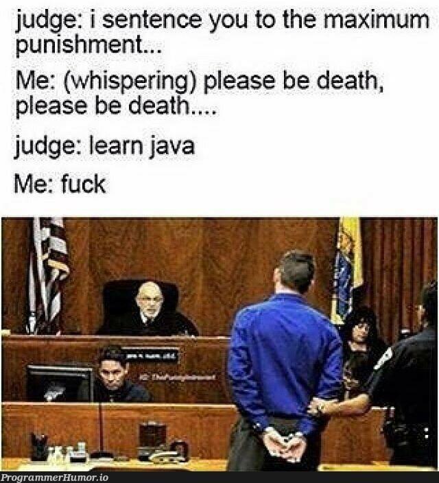 WHEN YOU HAVE NO CHOICE 🙄 | java-memes | ProgrammerHumor.io