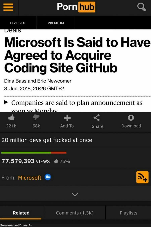 It's everywhere! | coding-memes, git-memes, github-memes, devs-memes, list-memes, comment-memes | ProgrammerHumor.io