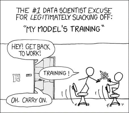 Shamelessly stolen from XKCD (credit where is due) | slack-memes, git-memes, data-memes, ssl-memes, train-memes, data scientist-memes | ProgrammerHumor.io