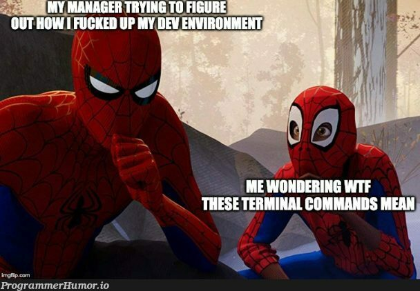 Every. Single. Onboarding. | command-memes | ProgrammerHumor.io