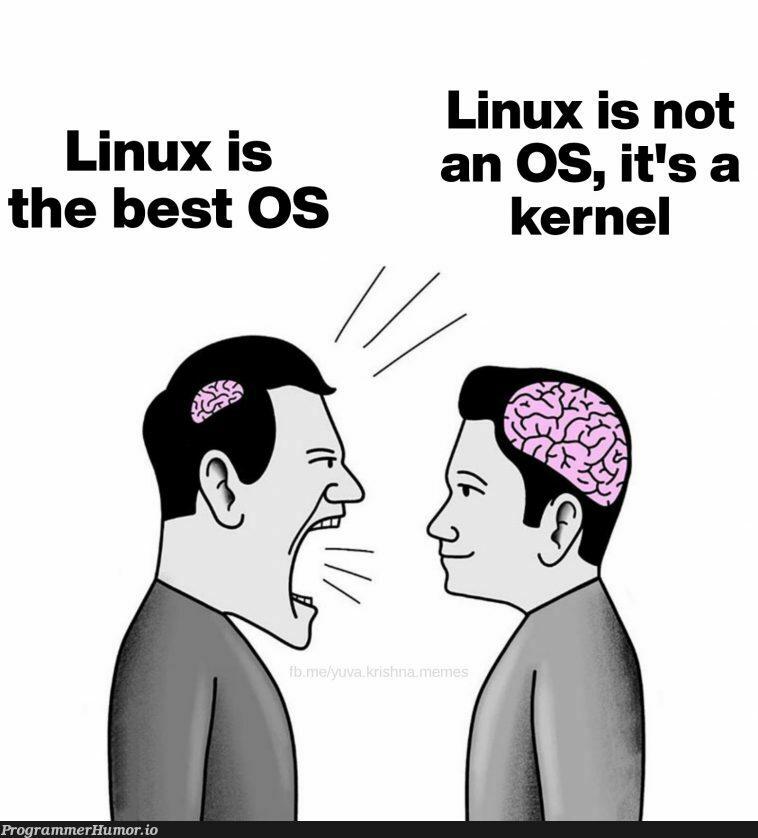 Distributions of Distributions..   linux-memes, ux-memes, kernel-memes   ProgrammerHumor.io