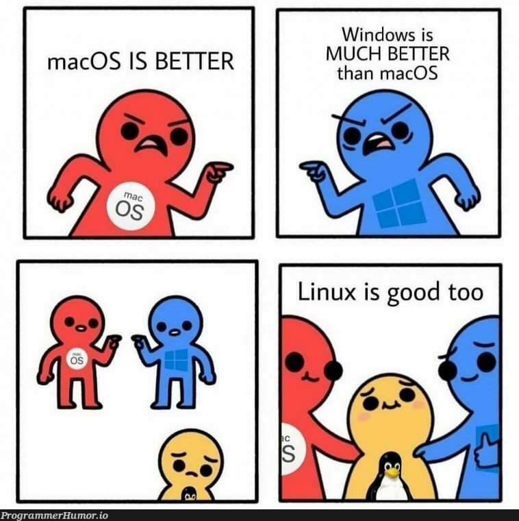 Who else love Linux ❤️   linux-memes, ux-memes, windows-memes, macos-memes, mac-memes   ProgrammerHumor.io