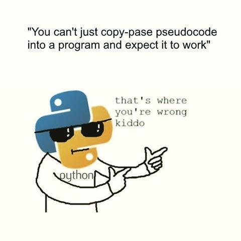You da real MVP | code-memes, program-memes, IT-memes, Pseudocode-memes | ProgrammerHumor.io