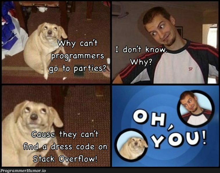 Why programmers don't go to parties | programmer-memes, code-memes, program-memes | ProgrammerHumor.io