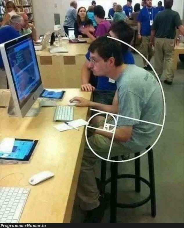The perfect programmer posture.   programmer-memes, program-memes   ProgrammerHumor.io