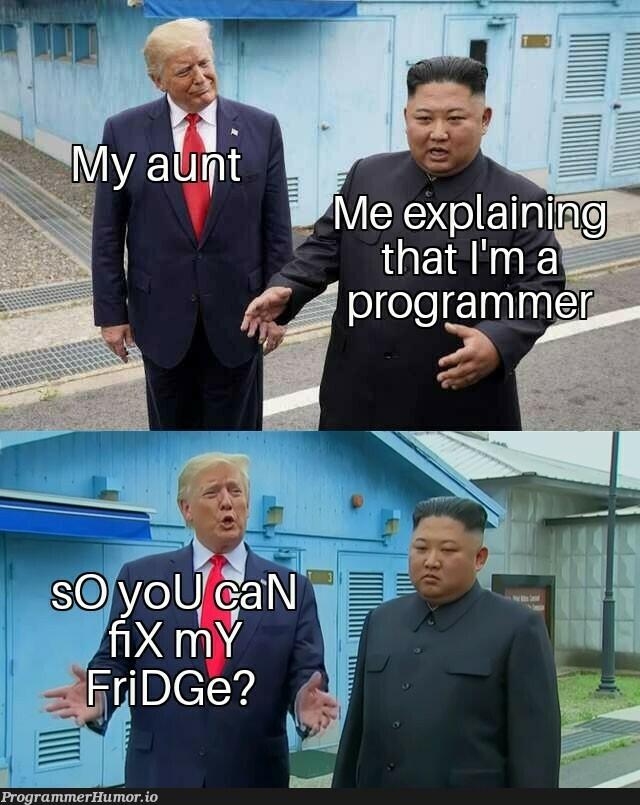 No dammit | ProgrammerHumor.io