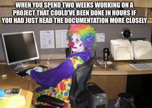 Thank god I'm getting paid by the hour... | ProgrammerHumor.io