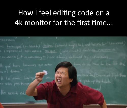.cs file? More like .see less file... amirite? | code-memes, monitor-memes, cs-memes | ProgrammerHumor.io
