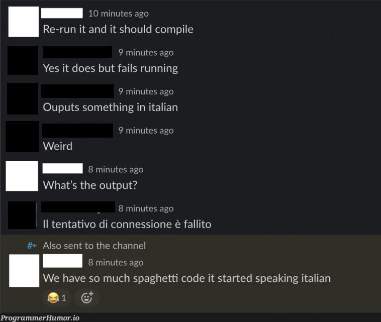 Do you even spaghet? | code-memes, IT-memes | ProgrammerHumor.io
