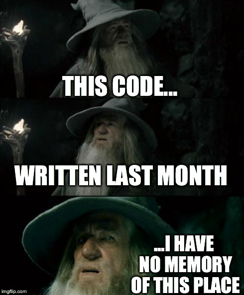 And thats why you comment | code-memes, comment-memes | ProgrammerHumor.io