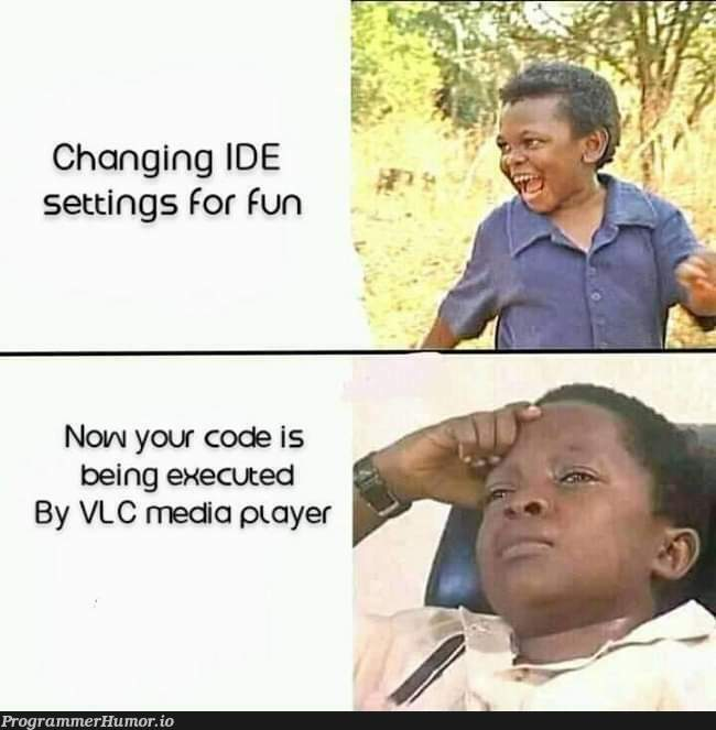 Why I never quit using sublime text   code-memes, sublime text-memes, ide-memes   ProgrammerHumor.io