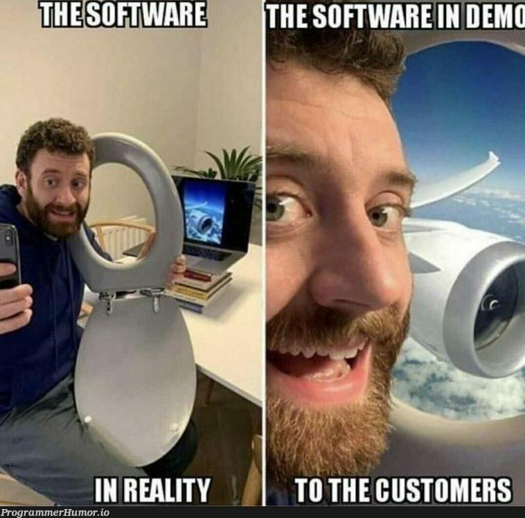 Beautiful view !   software-memes   ProgrammerHumor.io