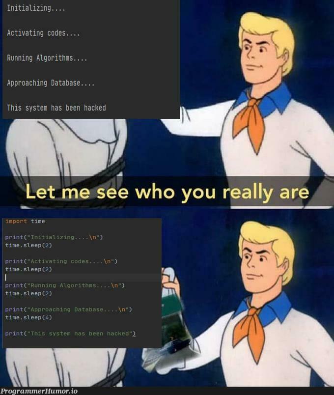 Movies in a nutshell | code-memes, data-memes, database-memes, shell-memes | ProgrammerHumor.io