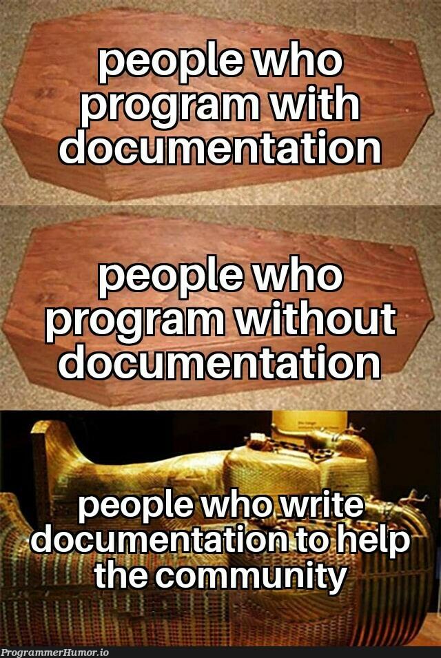 This people deserve a temple   program-memes, documentation-memes   ProgrammerHumor.io