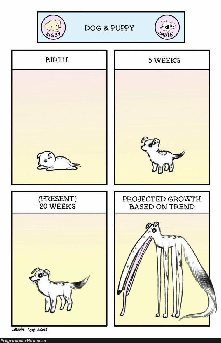Haha growth go brrr | ProgrammerHumor.io
