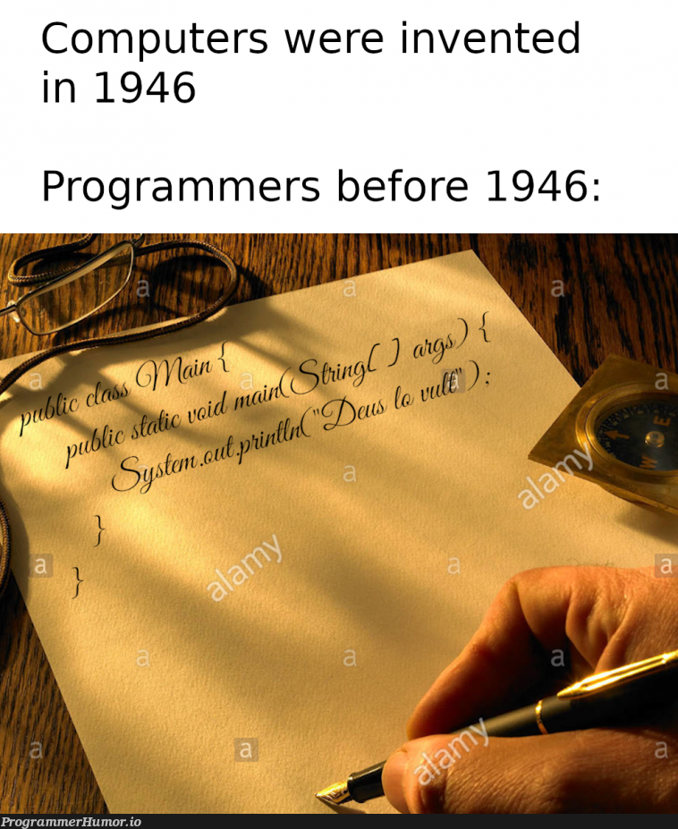 Programmers before computers were invented | programmer-memes, computer-memes, program-memes | ProgrammerHumor.io
