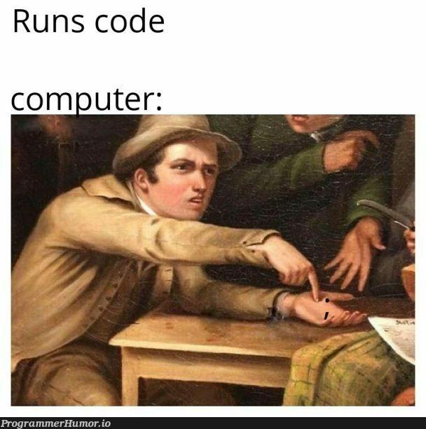 Goddamn | code-memes, computer-memes | ProgrammerHumor.io
