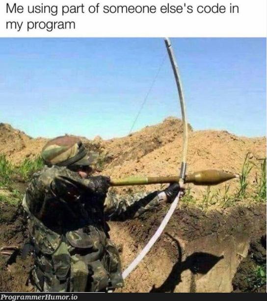 Just drop it in and it should work   code-memes, program-memes, IT-memes   ProgrammerHumor.io