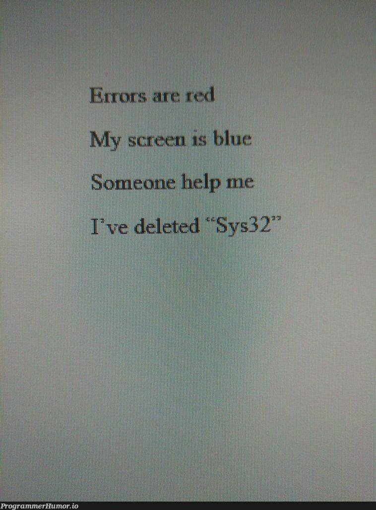 How's my poetry?   try-memes   ProgrammerHumor.io