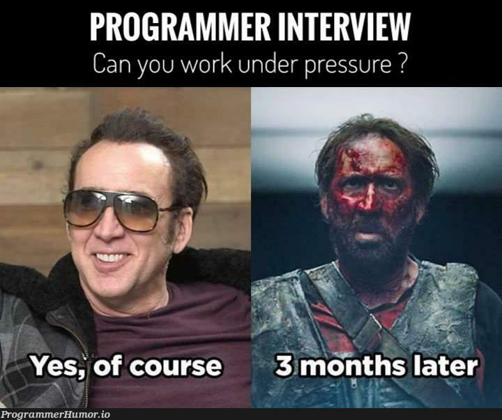 That's an ambush.., RUN. | programmer-memes, program-memes | ProgrammerHumor.io