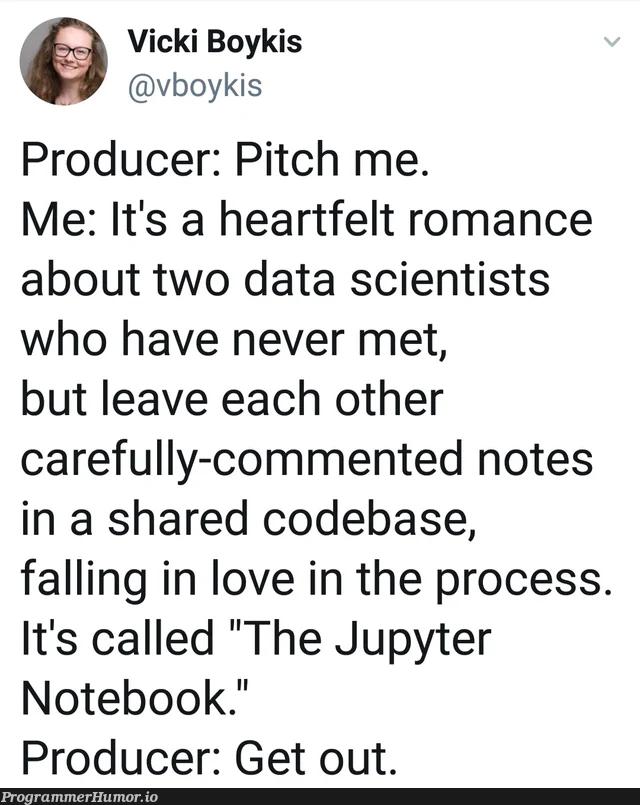 The Notepad++   code-memes, data-memes, notepad++-memes, data scientist-memes, comment-memes, jupyter-memes, notepad-memes   ProgrammerHumor.io