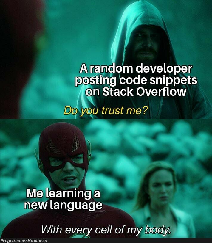 That do happen a lot | developer-memes, code-memes, stack-memes, stack overflow-memes, random-memes, overflow-memes, language-memes, rust-memes | ProgrammerHumor.io