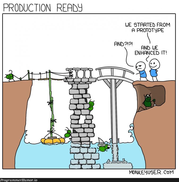 Production Ready | production-memes, product-memes | ProgrammerHumor.io