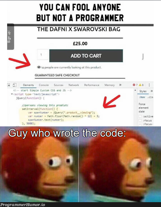 programmer didn't knew backend was a thing   programmer-memes, backend-memes, program-memes, product-memes   ProgrammerHumor.io