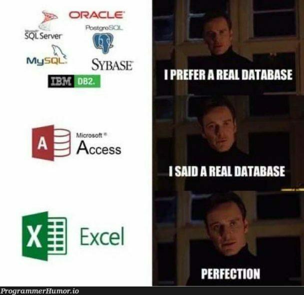 Just passing through   server-memes, mysql-memes, sql-memes, oracle-memes   ProgrammerHumor.io