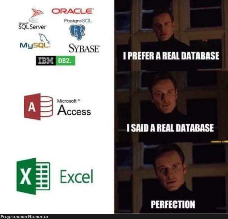 Just passing through | server-memes, mysql-memes, sql-memes, oracle-memes | ProgrammerHumor.io