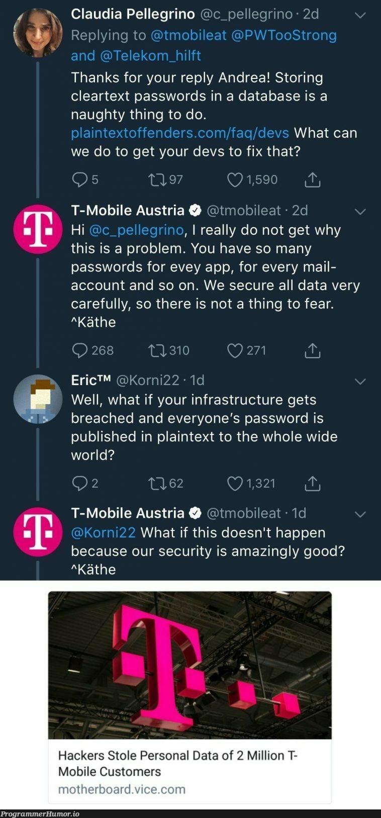 Amazingly good security | hacker-memes, data-memes, password-memes, security-memes, devs-memes, database-memes, fix-memes, rds-memes, ide-memes | ProgrammerHumor.io
