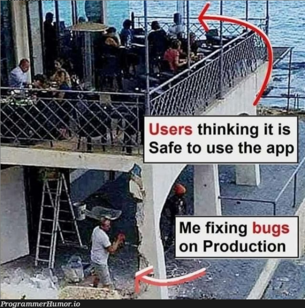 me fixing bugs   bugs-memes, bug-memes, fix-memes, IT-memes   ProgrammerHumor.io