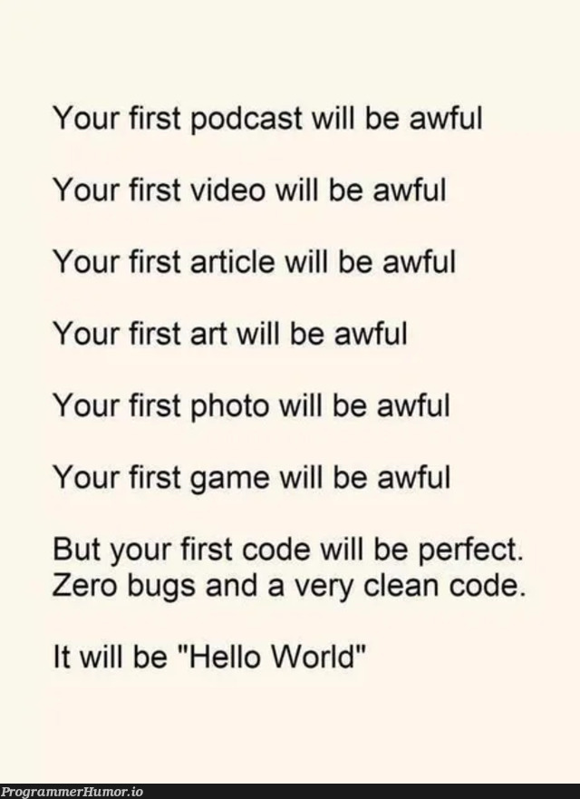 Learning to code since 3 months... besides other hobbies... Think this kinda nailes it. | code-memes, bugs-memes, bug-memes, IT-memes, ide-memes | ProgrammerHumor.io